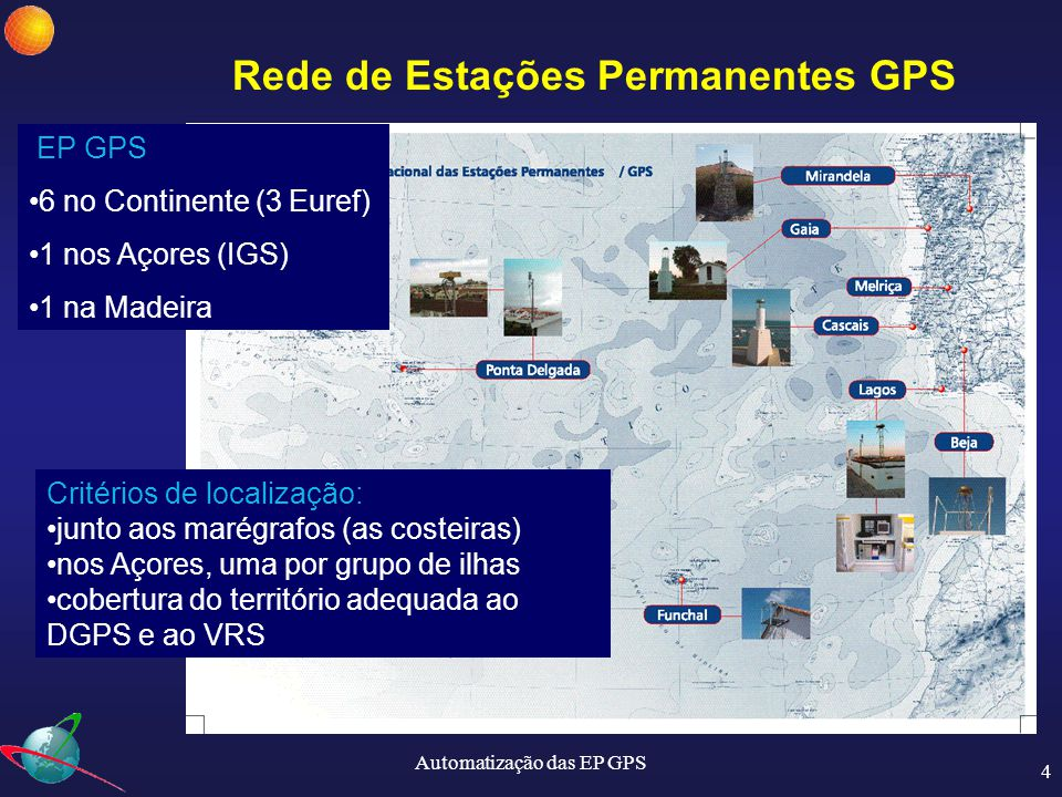 Rede de Estações Permanentes GPS