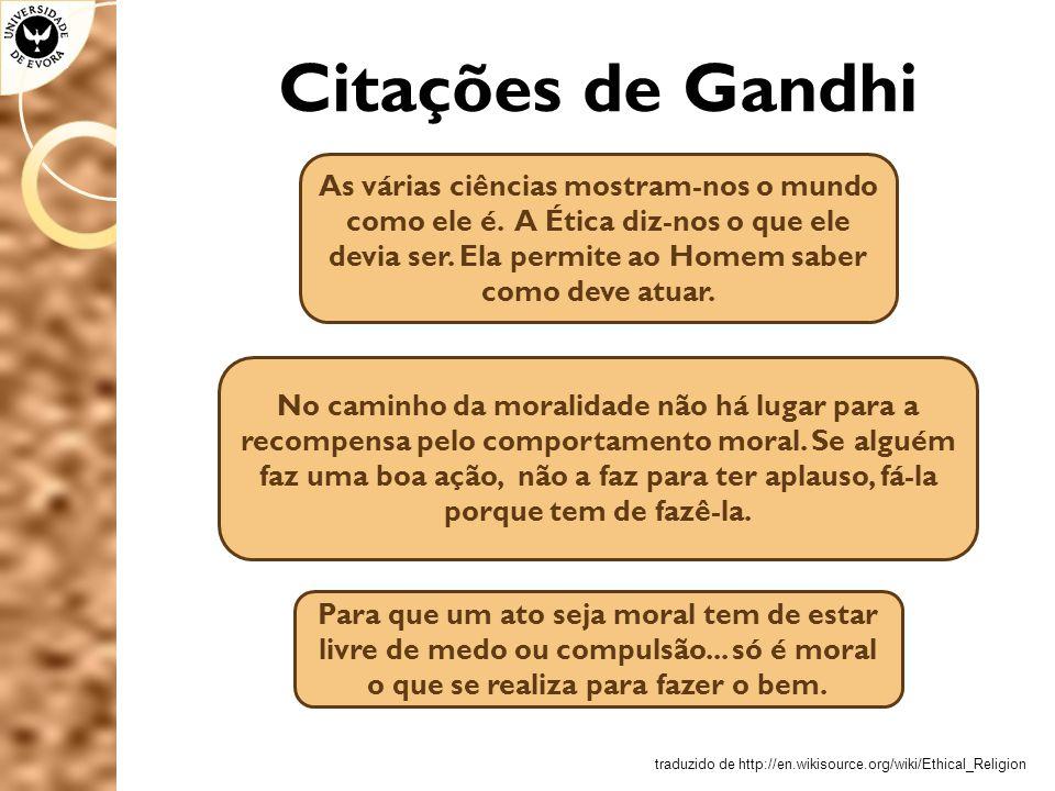 Citações de Gandhi