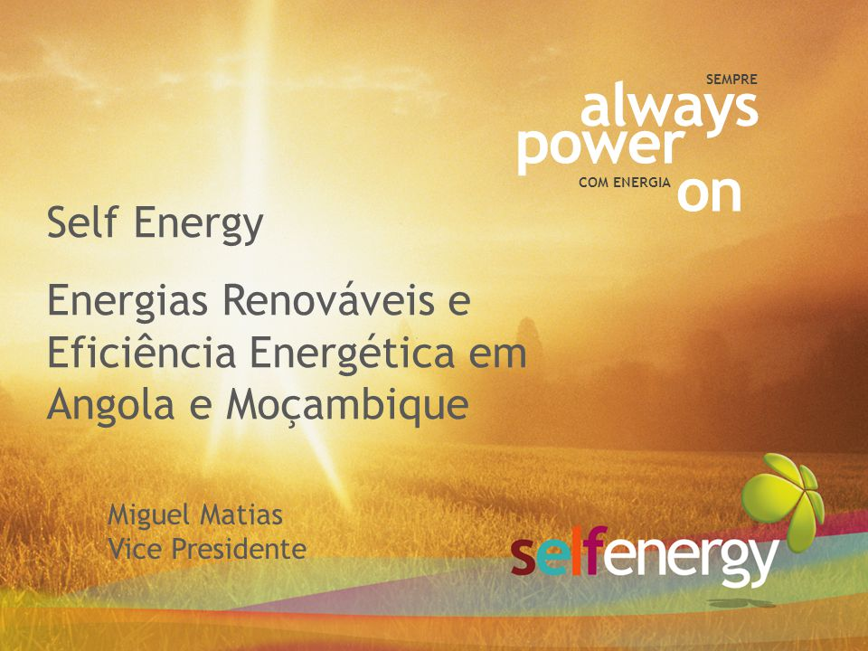 always power on Self Energy