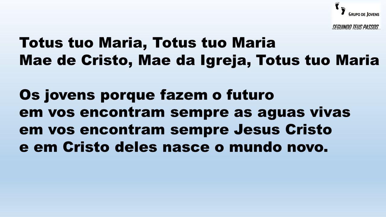 Totus tuo Maria, Totus tuo Maria