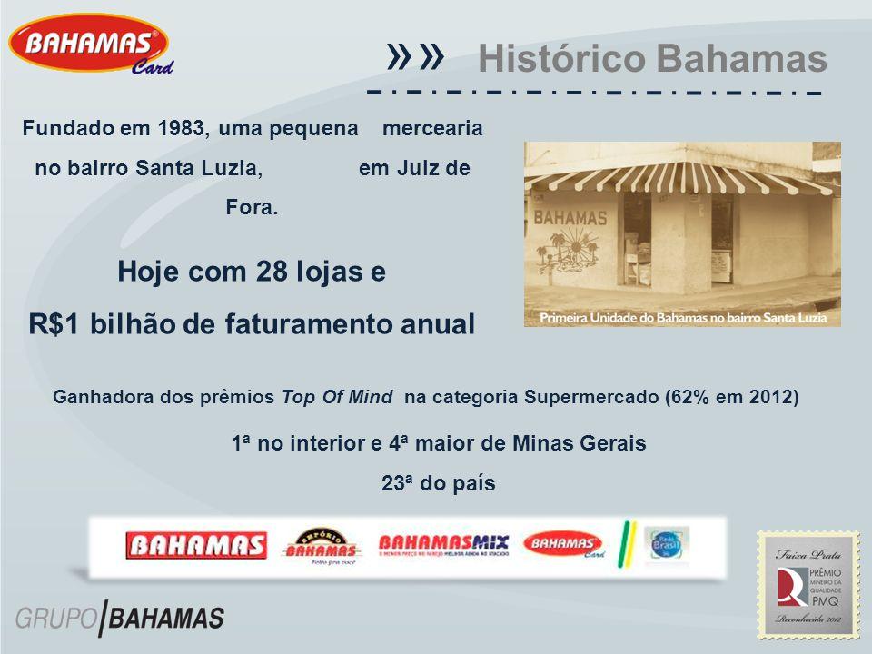 «« Histórico Bahamas Hoje com 28 lojas e