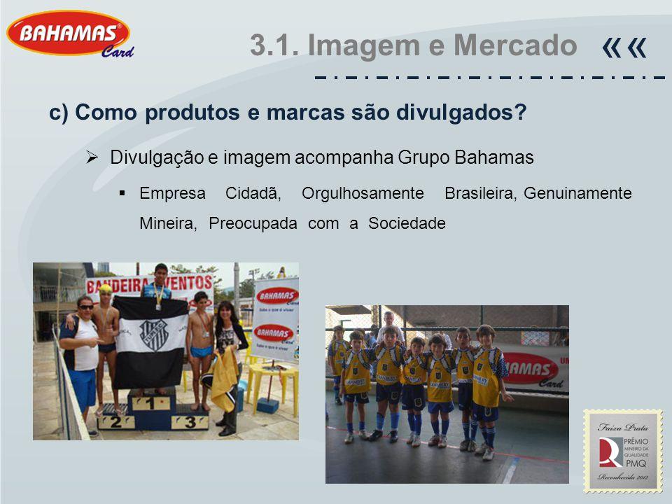 «« 3.1. Imagem e Mercado c) Como produtos e marcas são divulgados