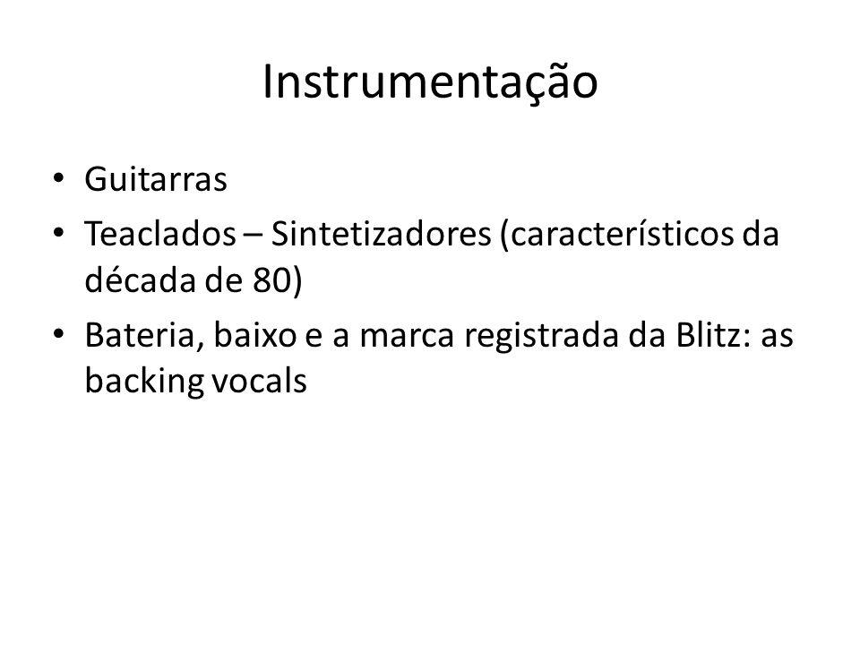 Instrumentação Guitarras