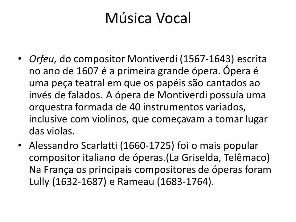 Música Vocal