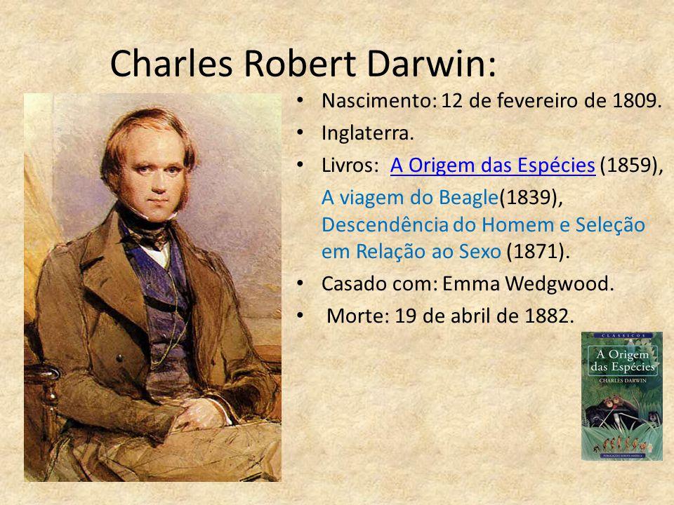 Charles Robert Darwin: