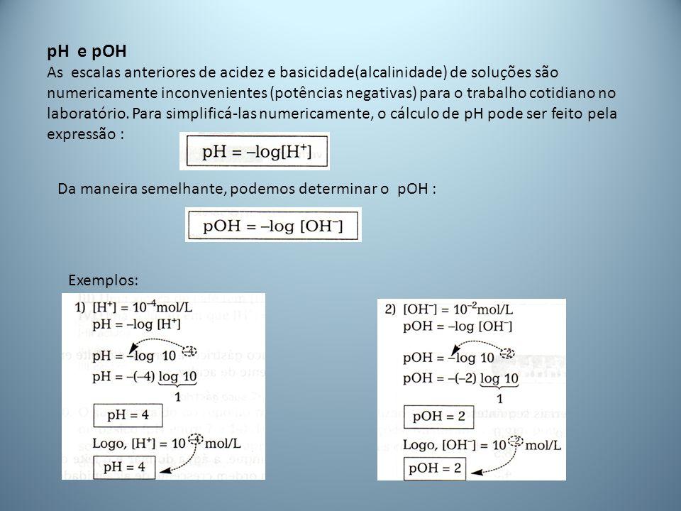 pH e pOH