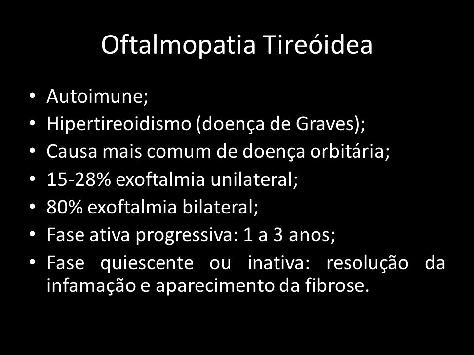 Oftalmopatia Tireóidea