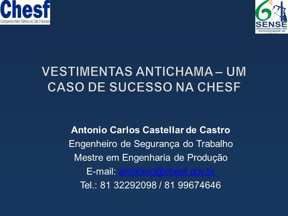 VESTIMENTAS ANTICHAMA – UM CASO DE SUCESSO NA CHESF