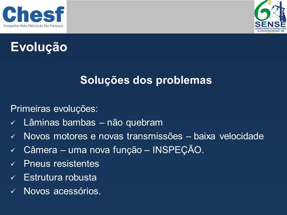 Soluções dos problemas