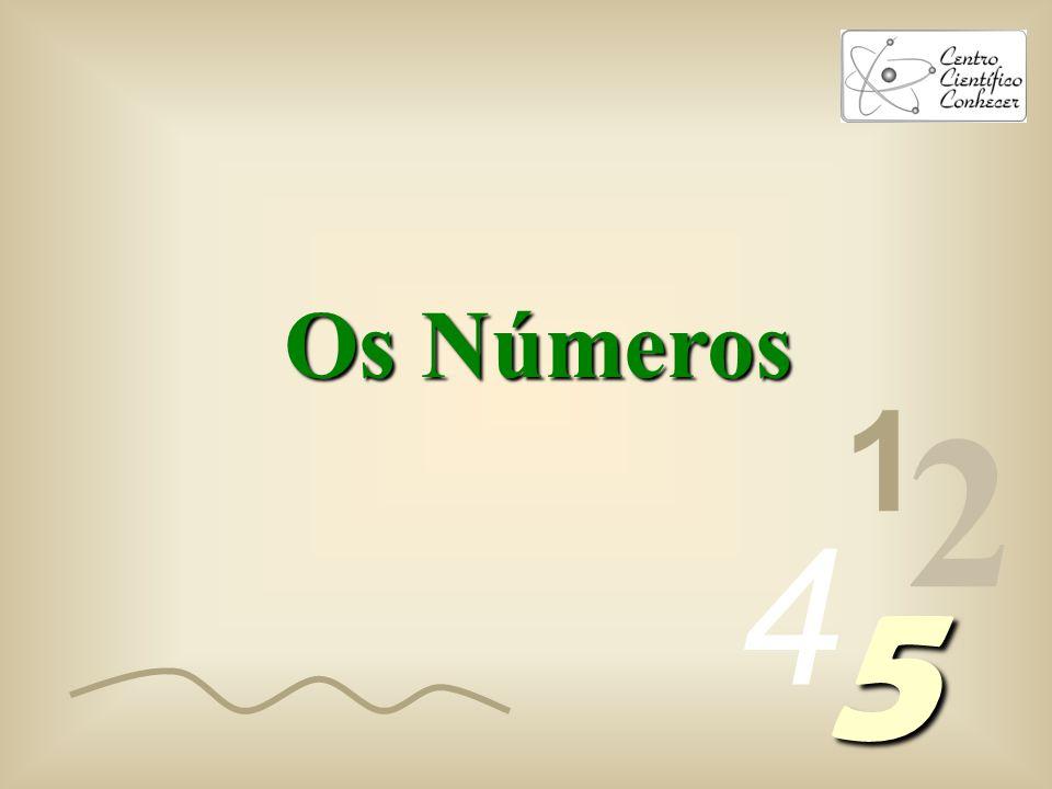 Os Números 1 2 4 5