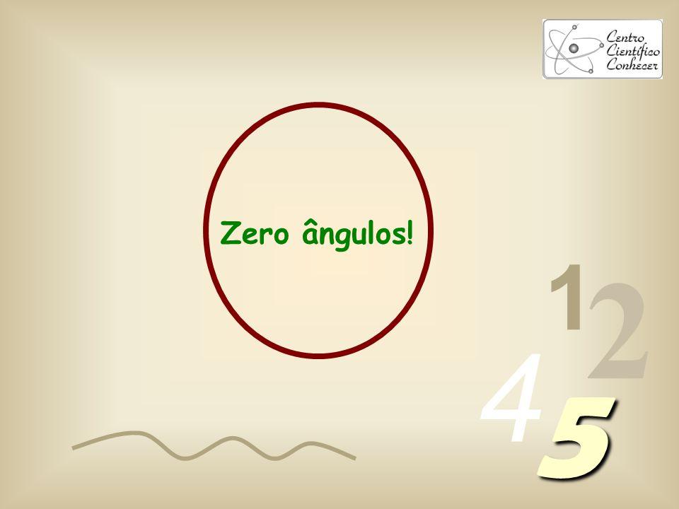 Zero ângulos! 1 2 4 5