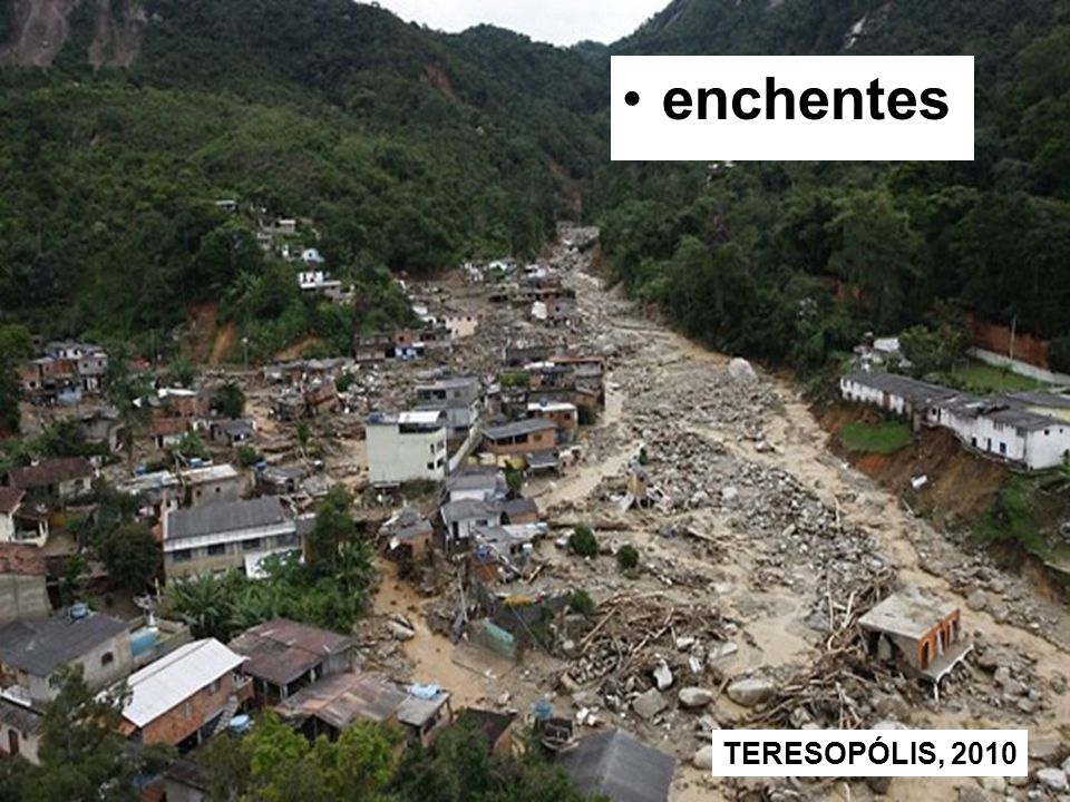 enchentes TERESOPÓLIS, 2010