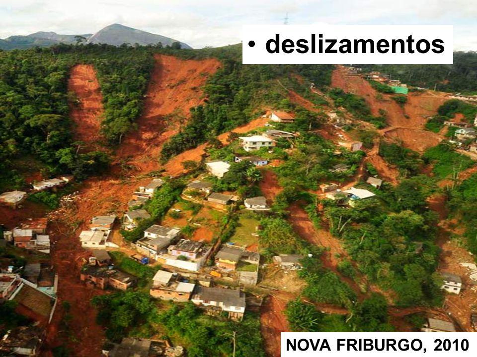 deslizamentos NOVA FRIBURGO, 2010