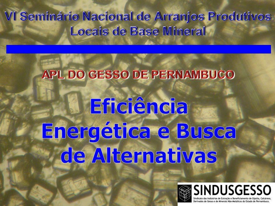 Eficiência Energética e Busca de Alternativas
