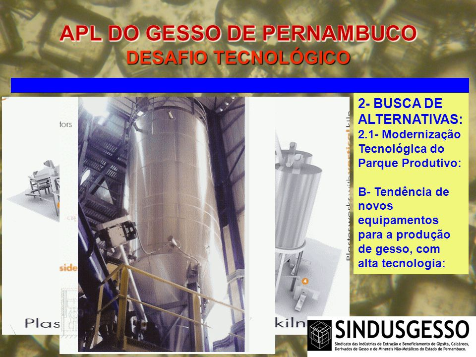 APL DO GESSO DE PERNAMBUCO DESAFIO TECNOLÓGICO