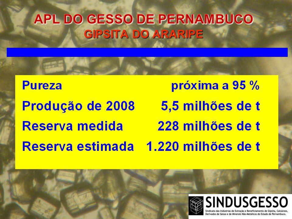 APL DO GESSO DE PERNAMBUCO GIPSITA DO ARARIPE