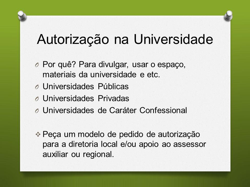 Autorização na Universidade