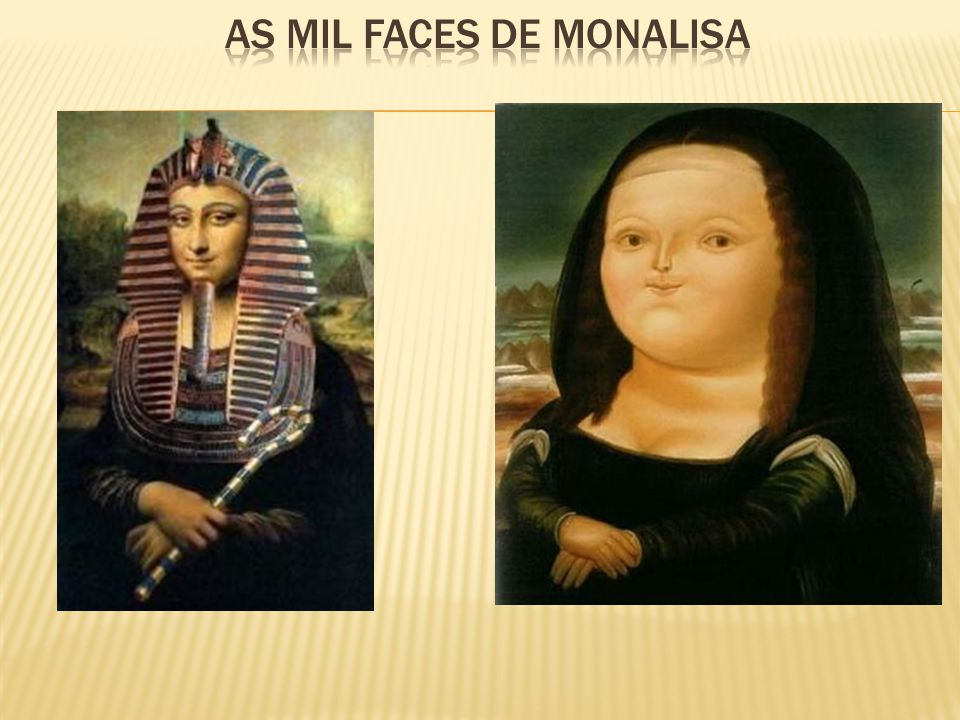 As mil faces de monalisa