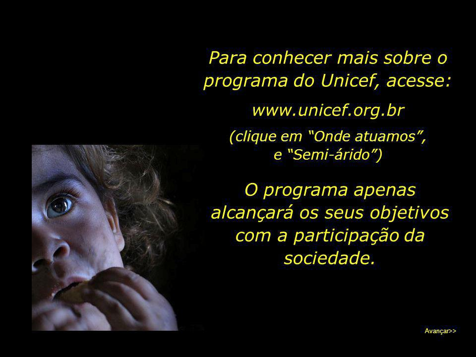 Para conhecer mais sobre o programa do Unicef, acesse: