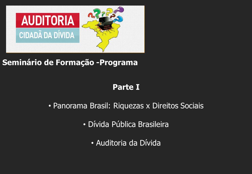Seminário de Formação -Programa Parte I