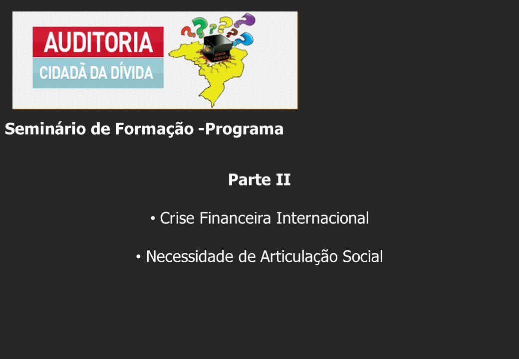 Seminário de Formação -Programa Parte II