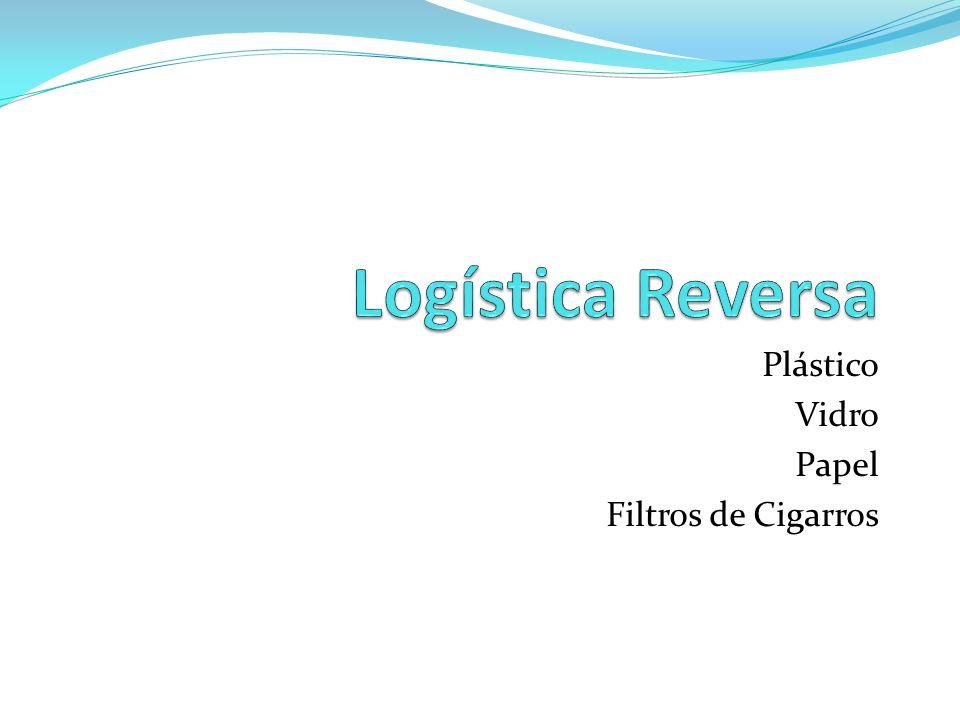 Plástico Vidro Papel Filtros de Cigarros