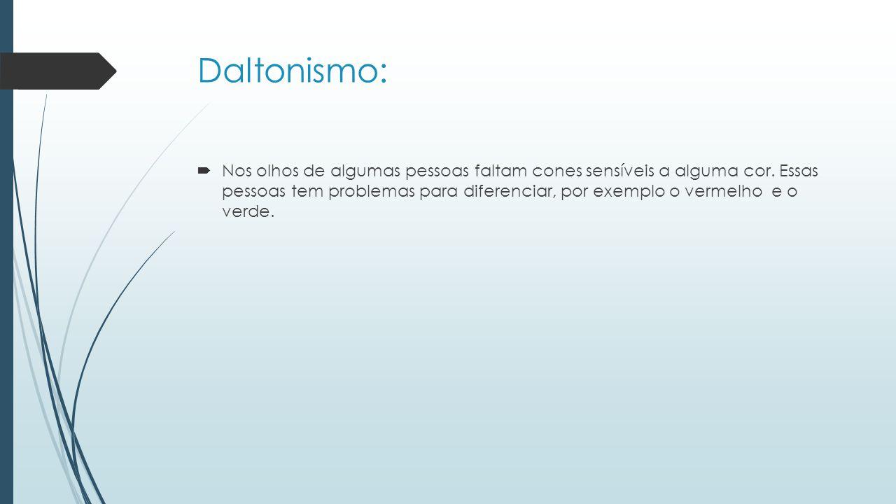 Daltonismo: