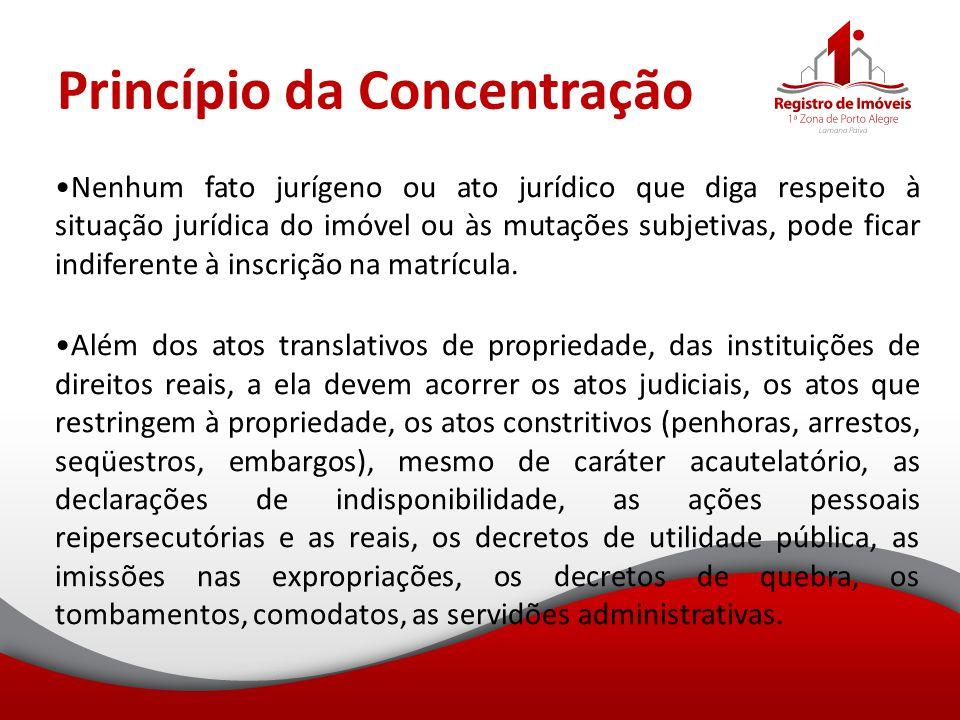 Princípio da Concentração