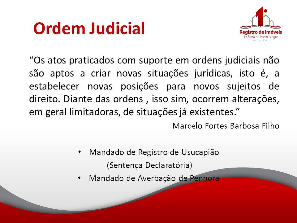 Ordem Judicial