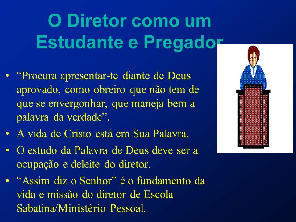 O Diretor como um Estudante e Pregador