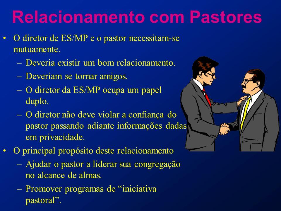 Relacionamento com Pastores