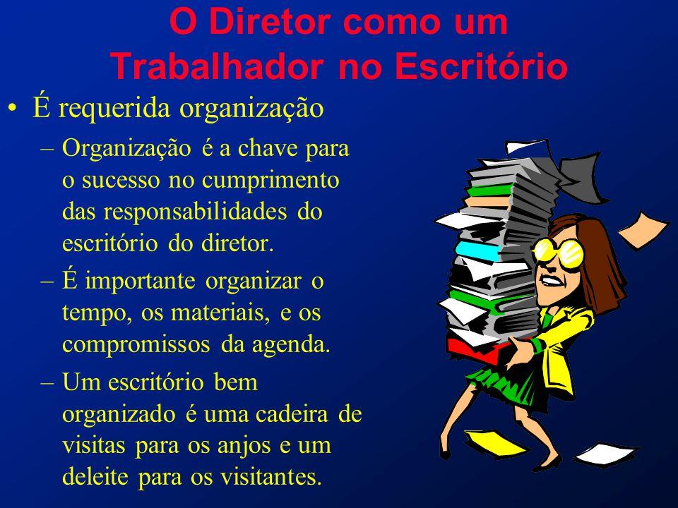 O Diretor como um Trabalhador no Escritório