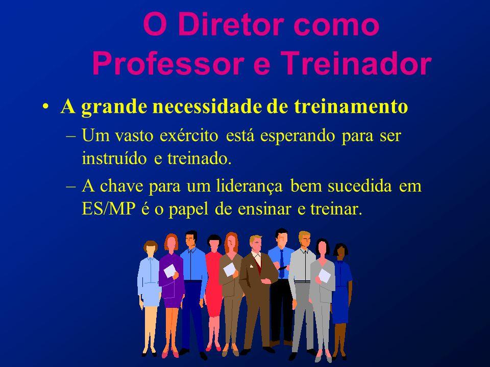 O Diretor como Professor e Treinador