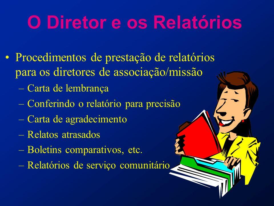 O Diretor e os Relatórios