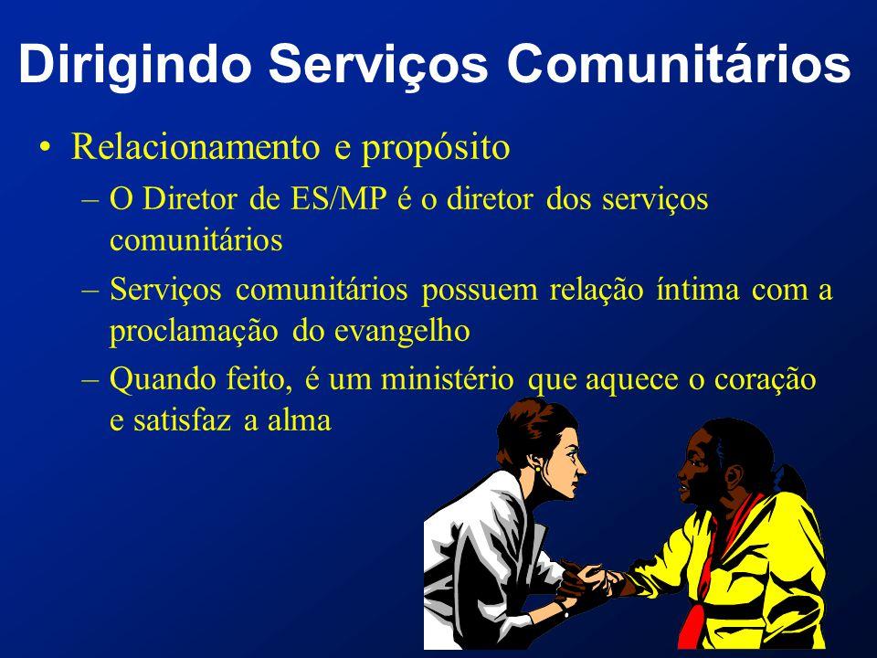 Dirigindo Serviços Comunitários