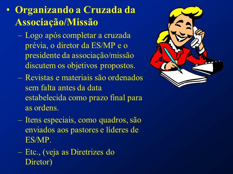 Organizando a Cruzada da Associação/Missão