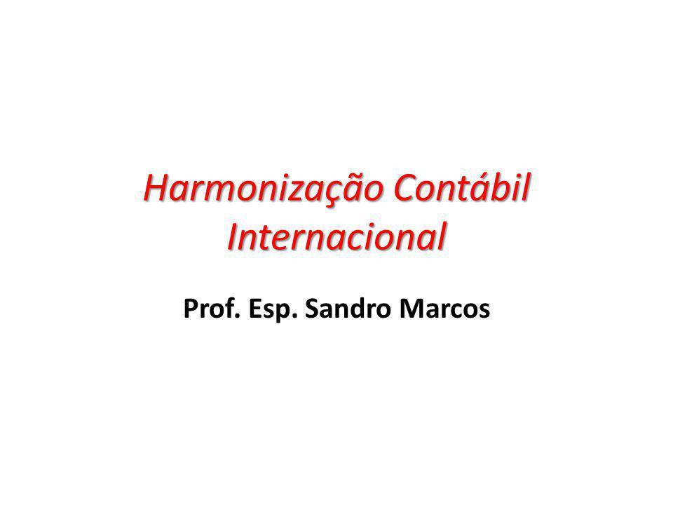 Harmonização Contábil Internacional