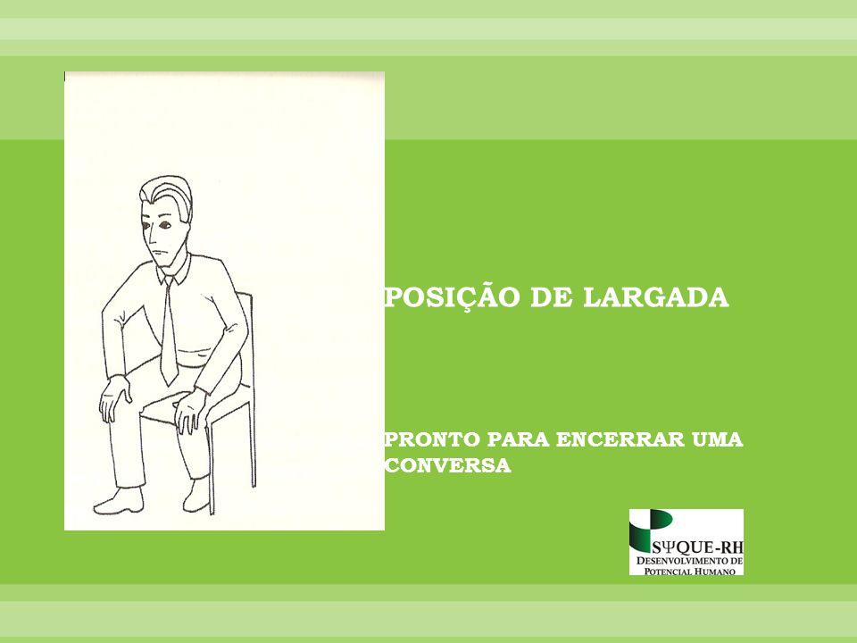 POSIÇÃO DE LARGADA PRONTO PARA ENCERRAR UMA CONVERSA