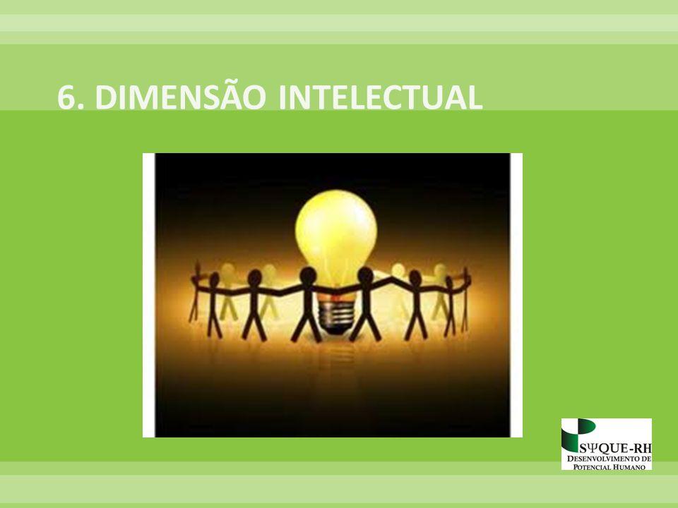 6. DIMENSÃO INTELECTUAL