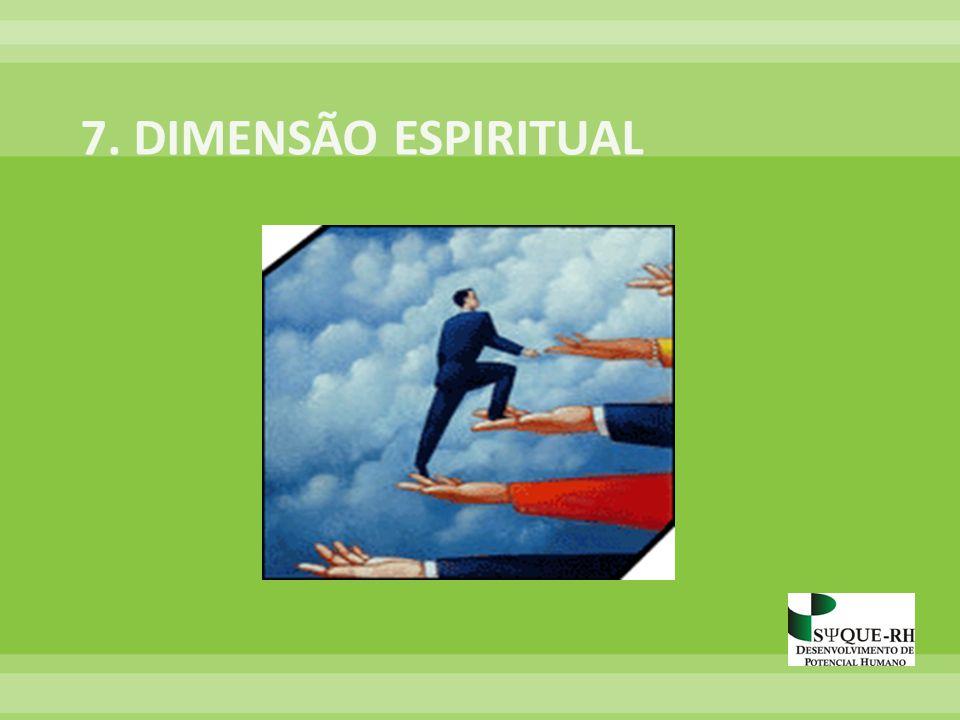 7. DIMENSÃO ESPIRITUAL