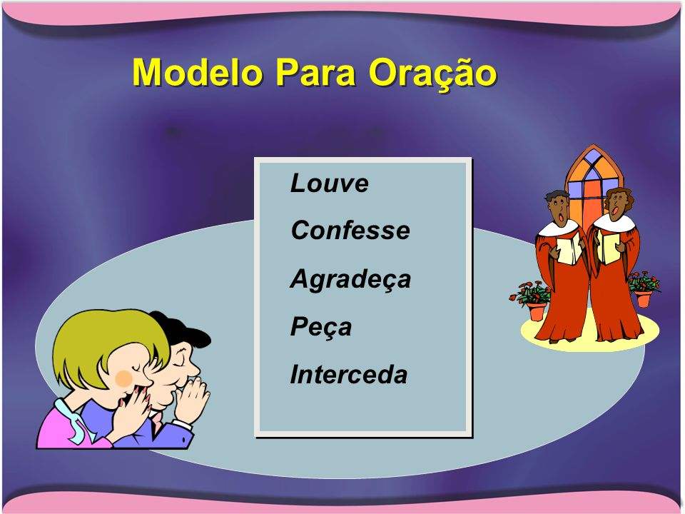 Modelo Para Oração Louve Confesse Agradeça Peça Interceda
