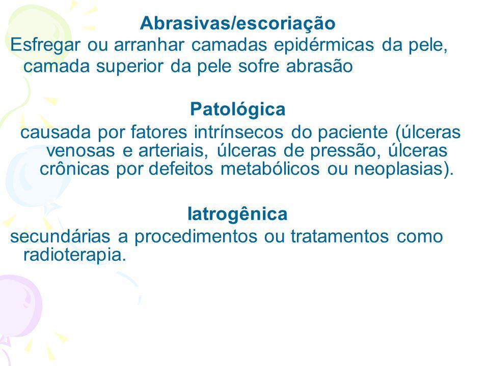 Abrasivas/escoriação