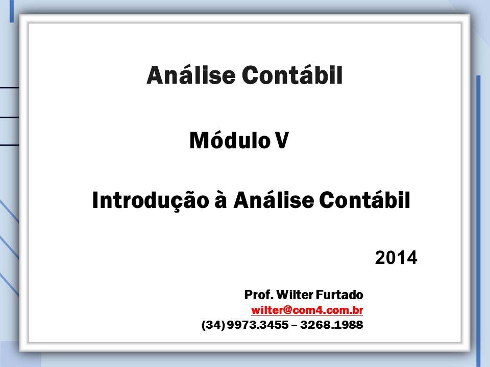 Introdução à Análise Contábil 2014