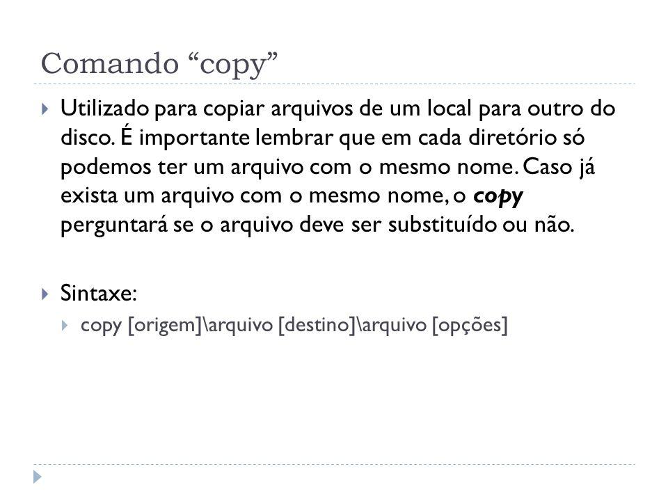 Comando copy