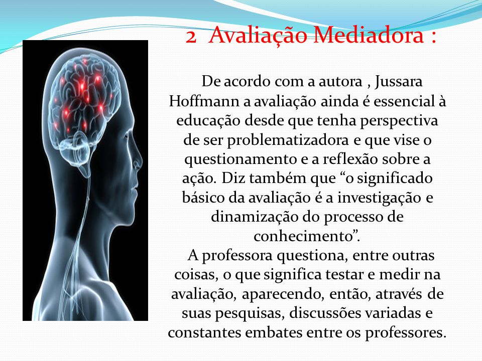 2 Avaliação Mediadora :