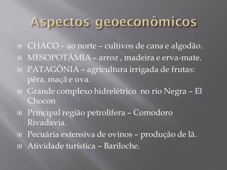 Aspectos geoeconômicos
