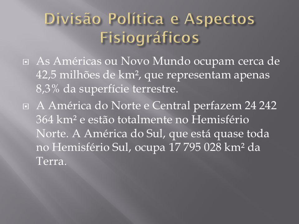 Divisão Política e Aspectos Fisiográficos
