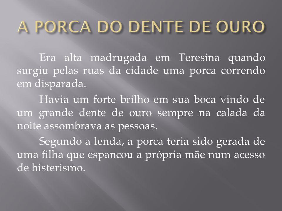 A PORCA DO DENTE DE OURO