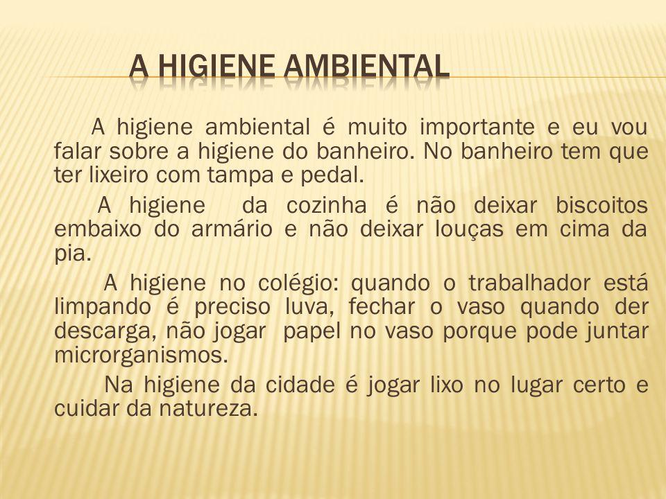 A higiene ambiental