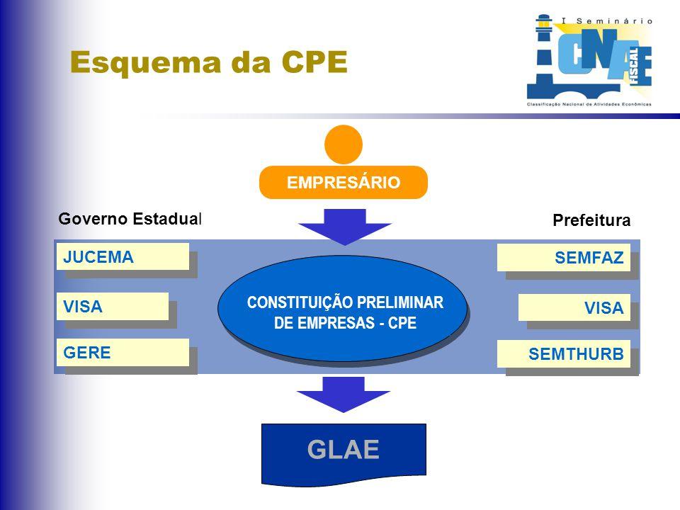 Consulta Preliminar de Empresas - CPE
